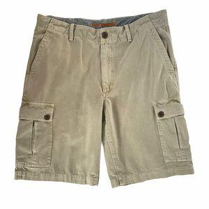 Reyn Spooner Cargo Shorts Flat Front 100% Cotton